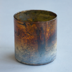 AH012 votive foil copper oxidized