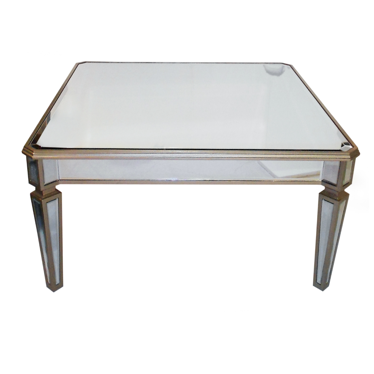 EX square coffee table gold