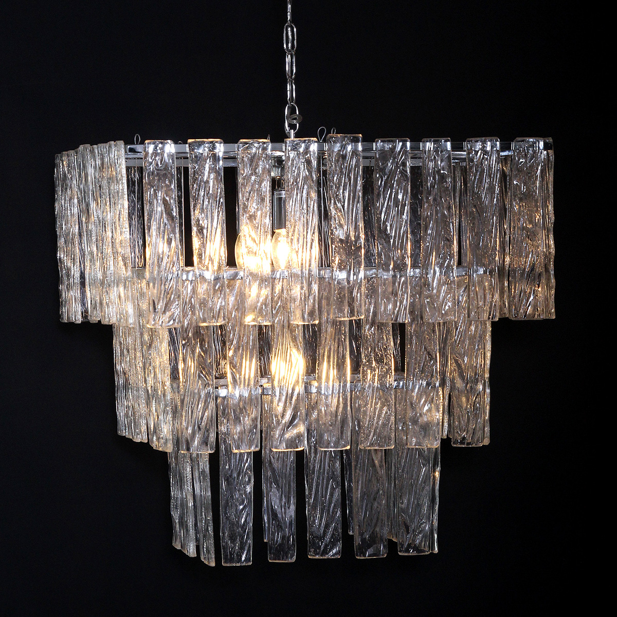 Empire three tiered square chandelier isabelina empire three tiered square chandelier arubaitofo Choice Image